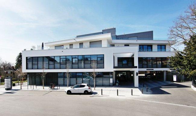 Außenaufnahme Gebäude Augenzentrum Friedberg