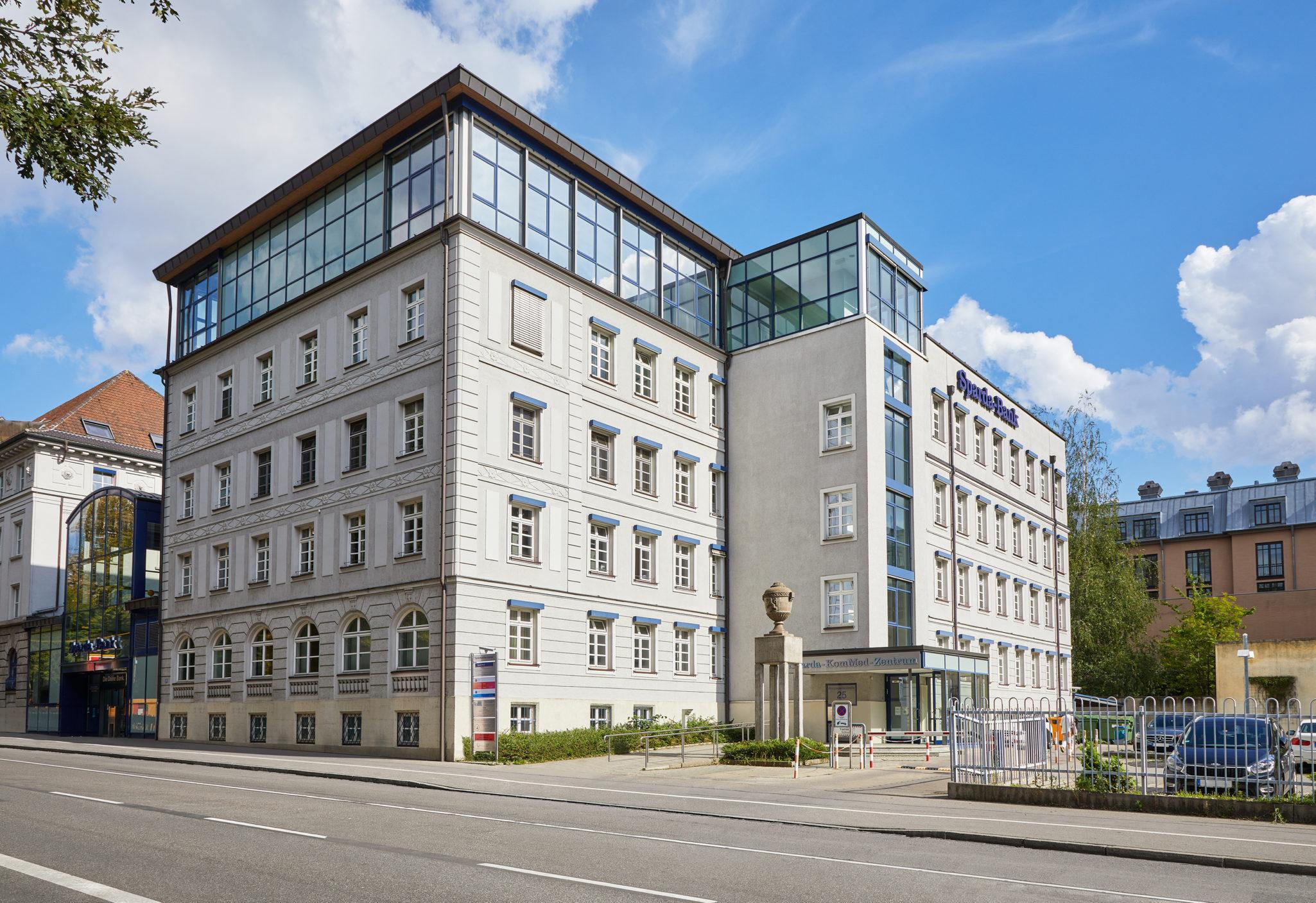 Außenaufnahme Gebäude Augenzentrum Prinz 25 Augsburg